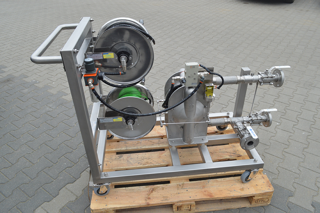 Metal Diaphragm Pump for chemical industry